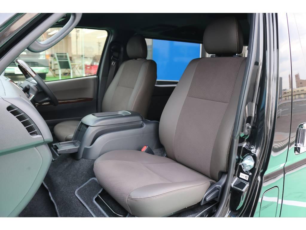 50THモデル専用シート! | トヨタ ハイエースバン 2.8 スーパーGL 50TH アニバーサリー リミテッド ロングボディ ディーゼルターボ 4WD 50TH