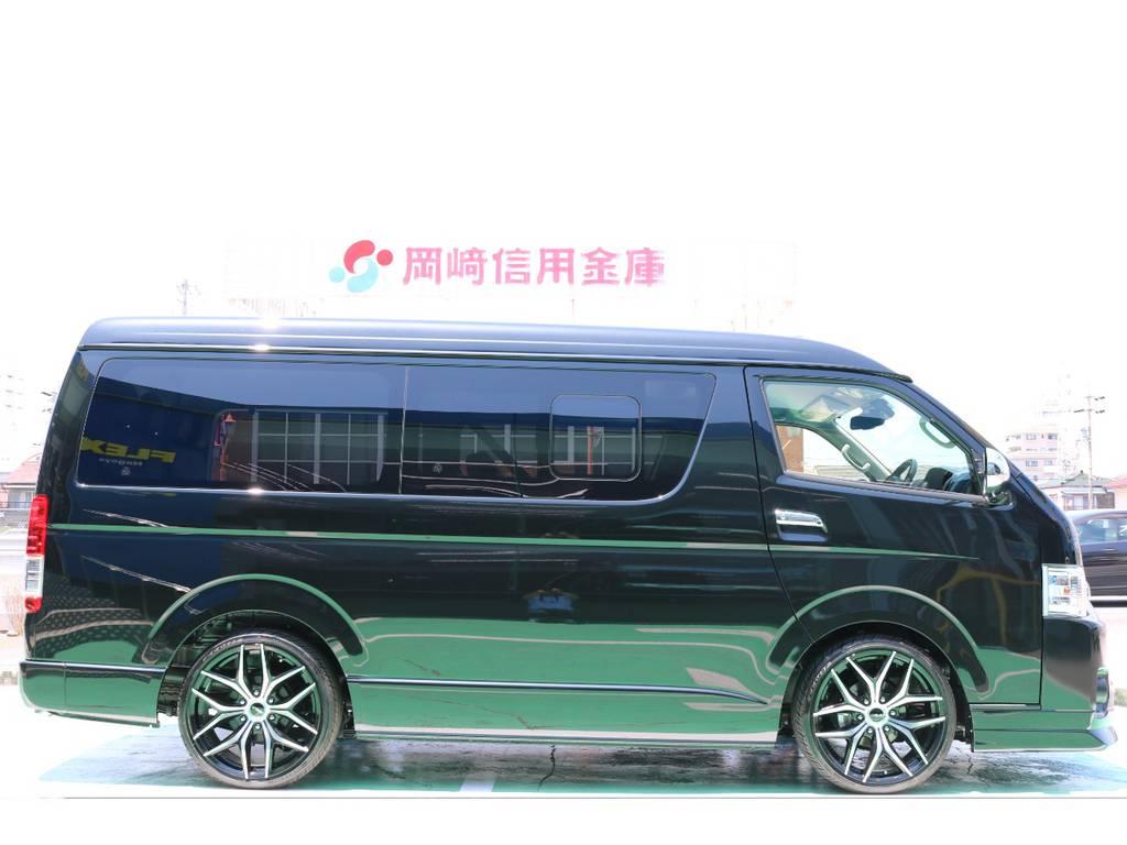 2インチローダウンキット♪ | トヨタ ハイエース 2.7 GL ロング ミドルルーフ TSS付 Ver.2内装仮装