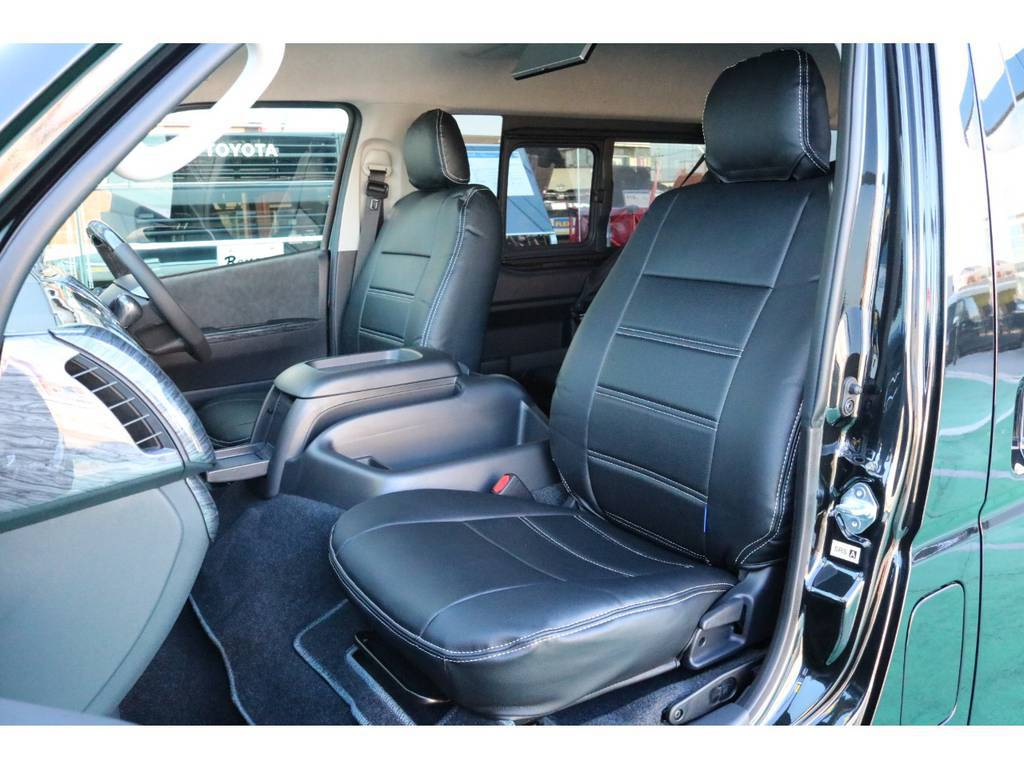 シートカバー完備♪ | トヨタ ハイエース 2.7 GL ロング ミドルルーフ TSS付 Ver.2内装仮装