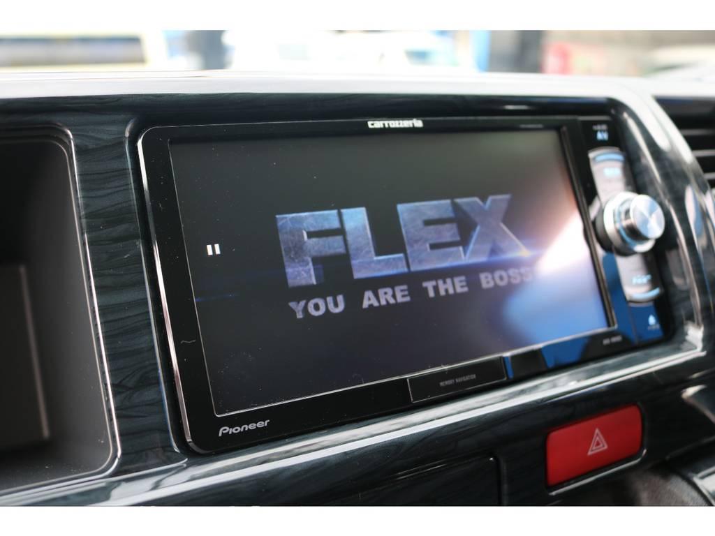 パイオニア製7型SDナビ搭載! | トヨタ ハイエース 2.7 GL ロング ミドルルーフ 4WD TSS付
