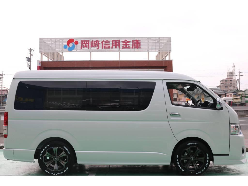 1.5インチローダウンキット♪ | トヨタ ハイエース 2.7 GL ロング ミドルルーフ 4WD TSS付