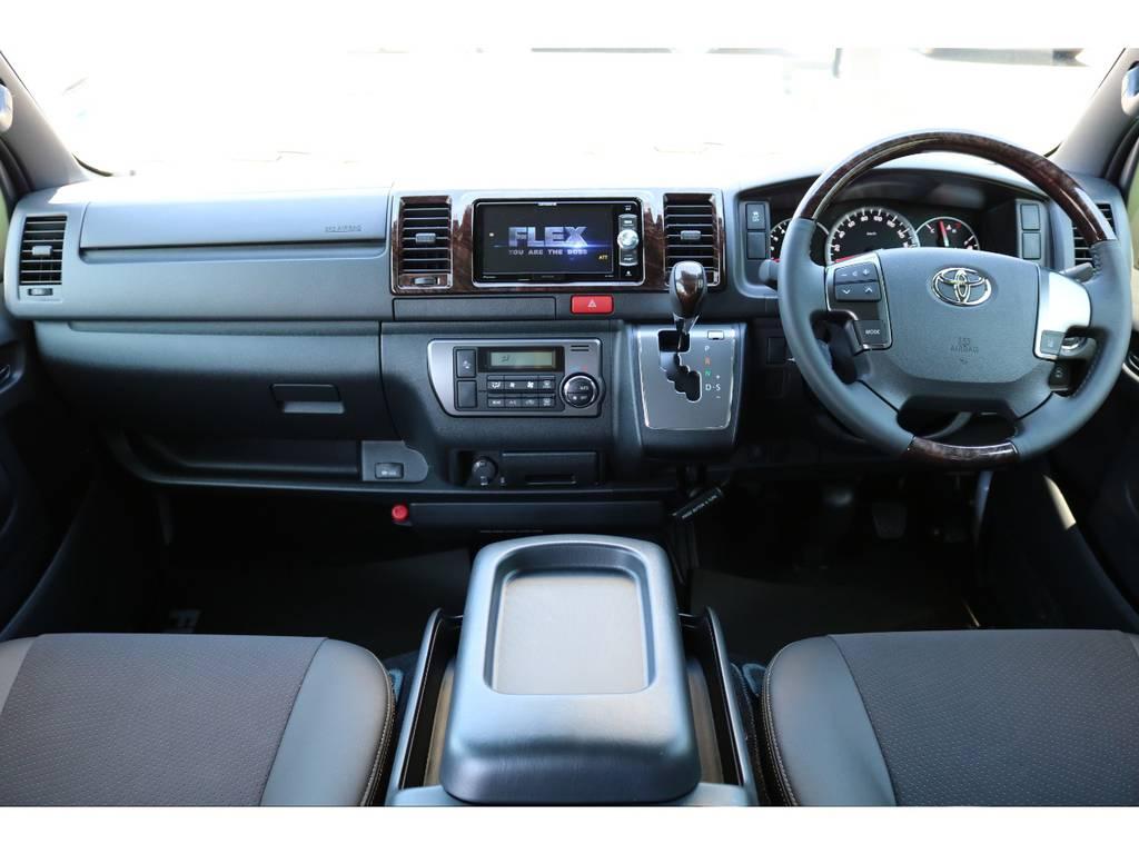 特別仕様の内装となっております!   トヨタ ハイエースバン 2.8 スーパーGL 50TH アニバーサリー リミテッド ロングボディ ディーゼルターボ 50TH