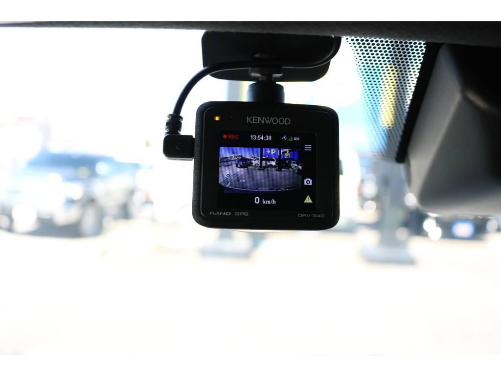 ドライブレコーダーも装着されております! | トヨタ ハイエースバン 2.0 スーパーGL 50TH アニバーサリー リミテッド ロングボディ 50TH