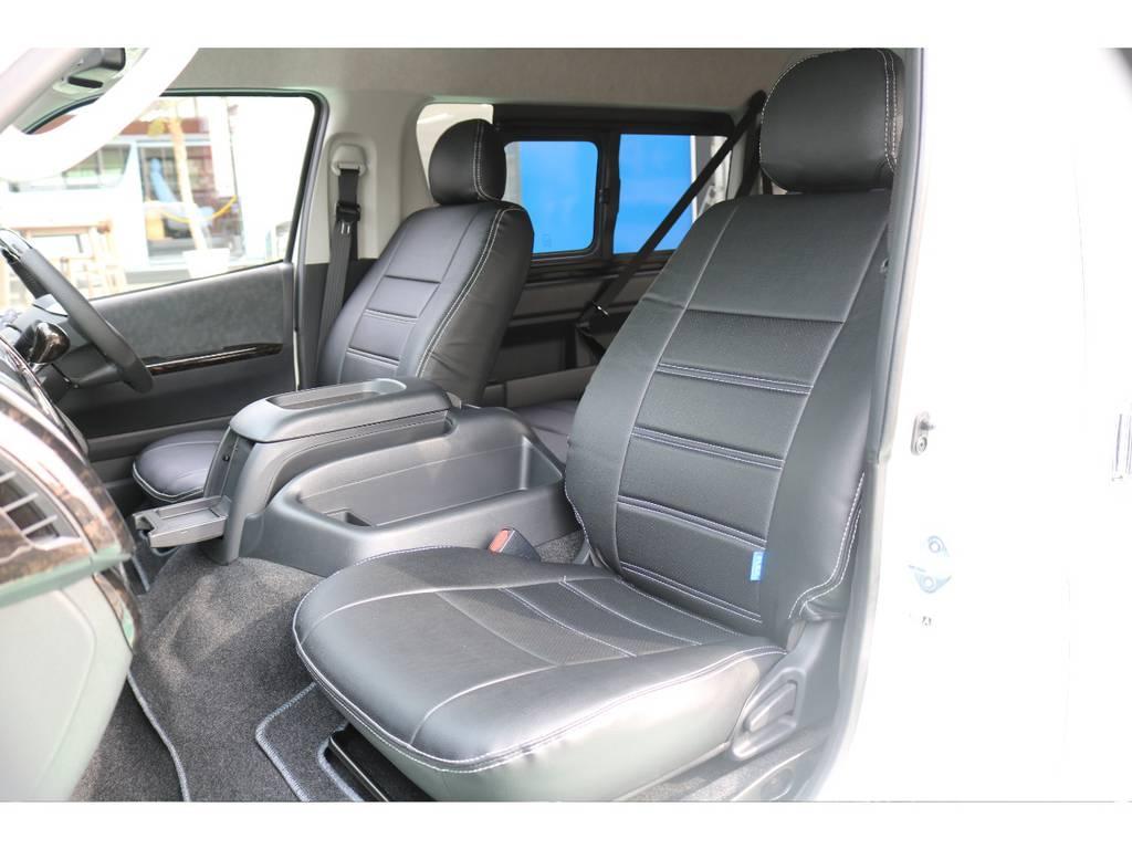シートカバー装備♪ | トヨタ ハイエース 2.7 GL ロング ミドルルーフ TSS付