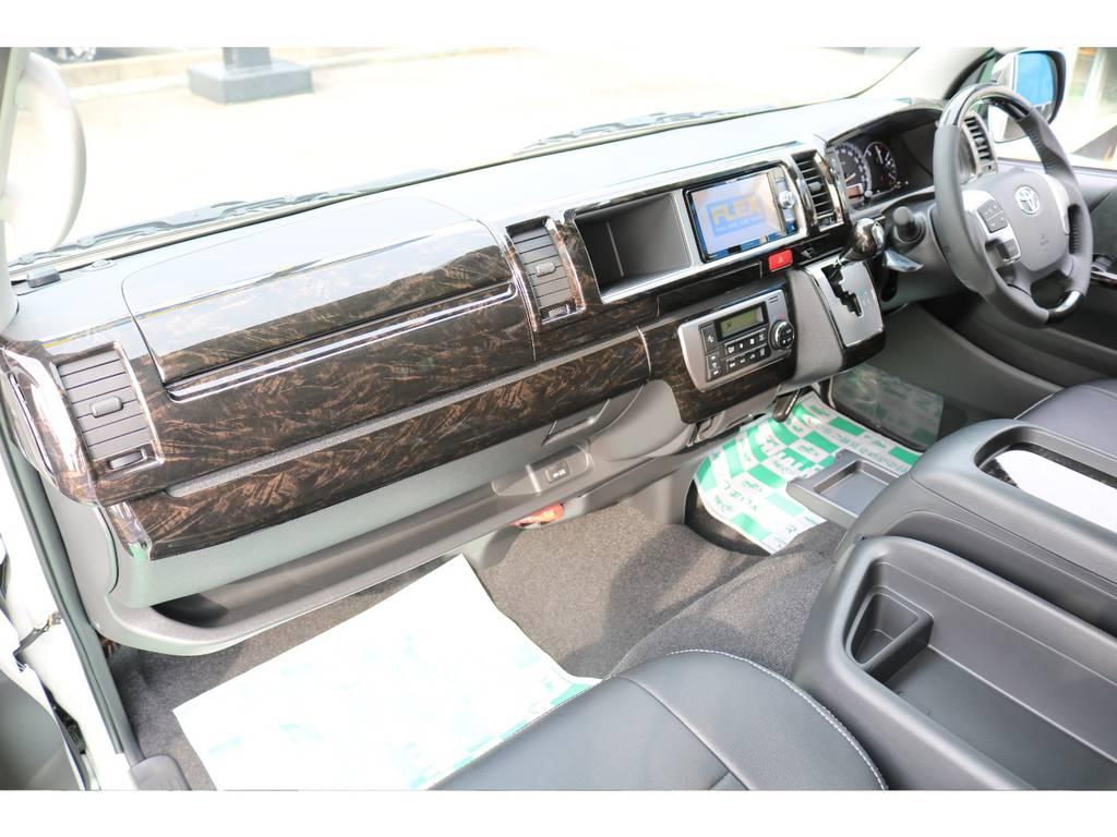 助手席エアバック&AC100Vコンセント♪ | トヨタ ハイエース 2.7 GL ロング ミドルルーフ TSS付