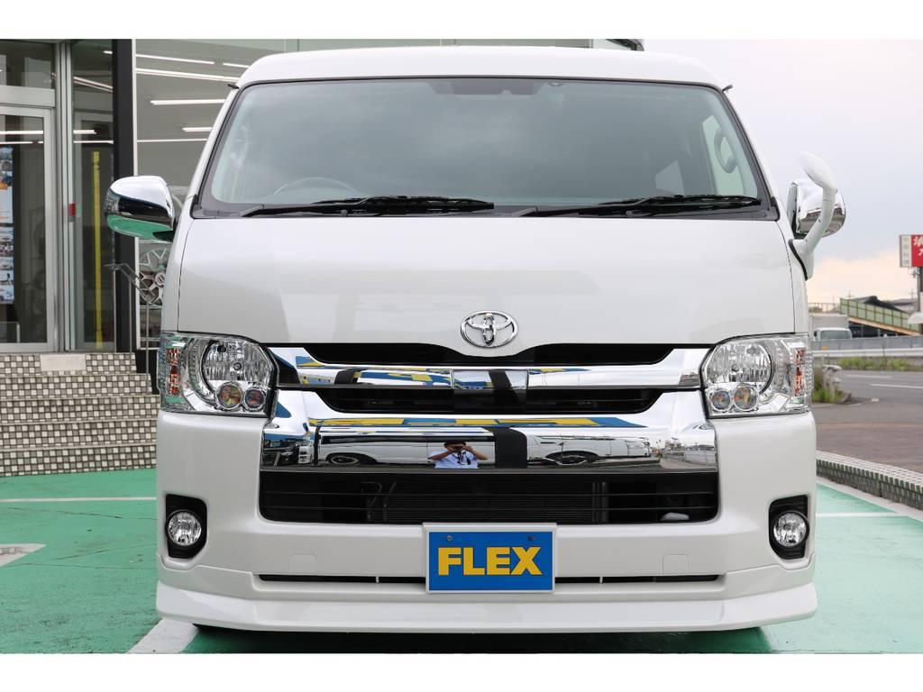 トヨタセーフティーセンス・LEDヘッドライト装備♪ | トヨタ ハイエース 2.7 GL ロング ミドルルーフ TSS付