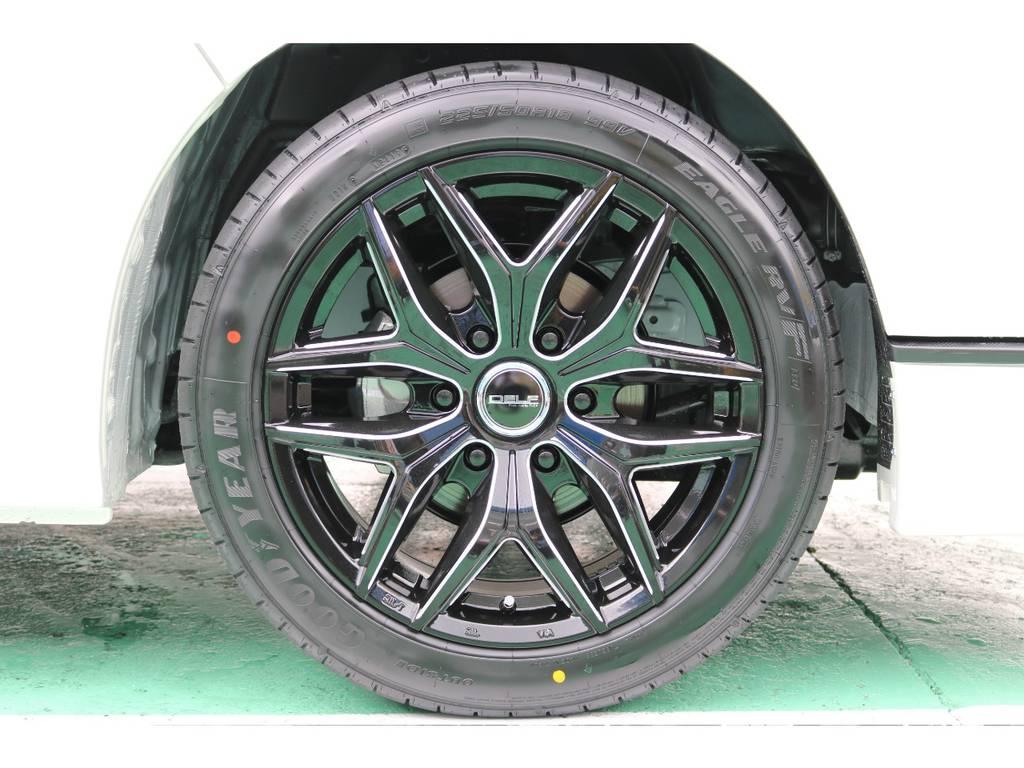 新品DELF01 BM 18インチAW!! | トヨタ ハイエース 2.7 GL ロング ミドルルーフ TSS付
