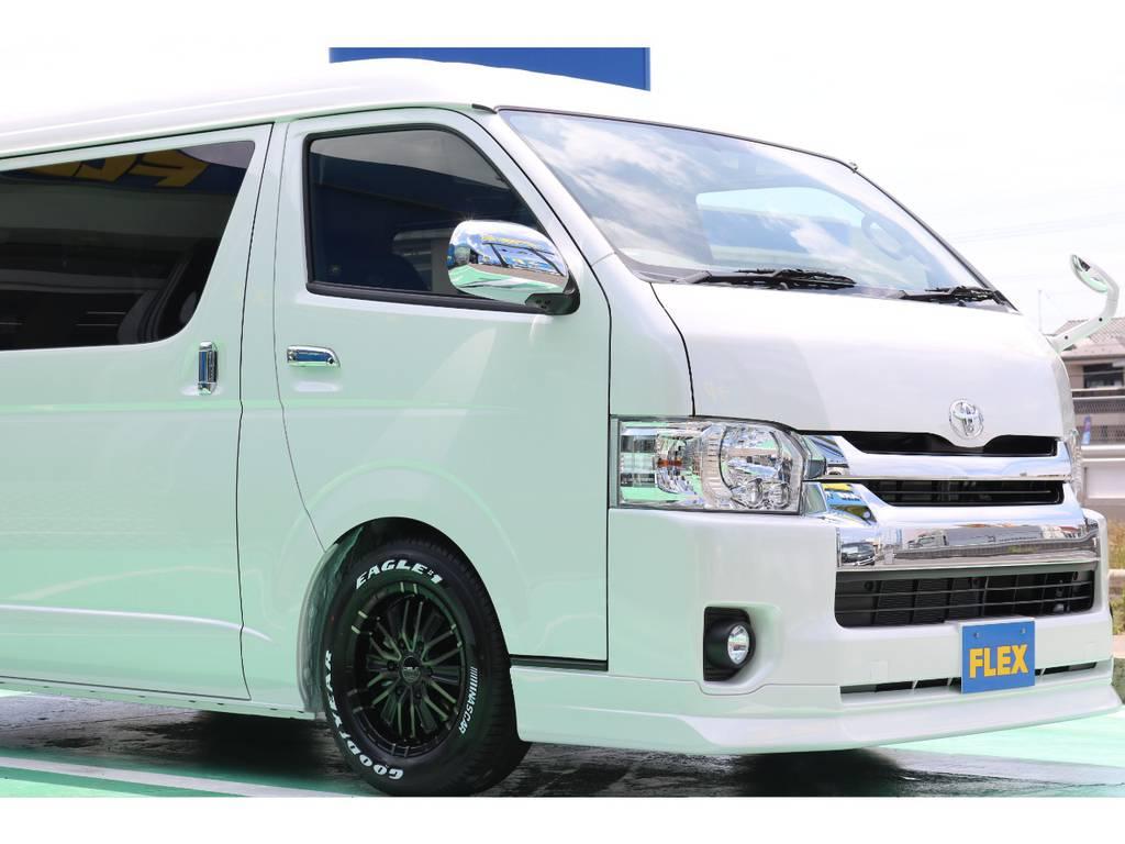 | トヨタ ハイエース 2.7 GL ロング ファインテックツアラー ☆オリジナル高級シートカバー☆