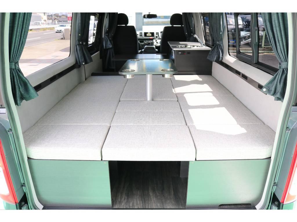 | トヨタ ハイエースバン 2.8 DX ロング ハイルーフ GLパッケージ ディーゼルターボ 4WD キャンパー特設 リアフォグレス