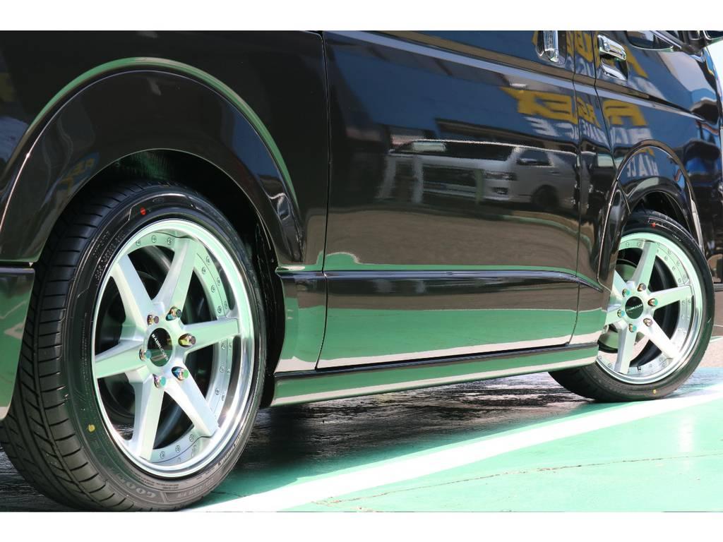 8mmダウンルックオーバーフェンダー♪ | トヨタ ハイエースバン 2.8 スーパーGL 50TH アニバーサリーLTD ワイド ミドルルーフ ロングボディ Dターボ 50TH