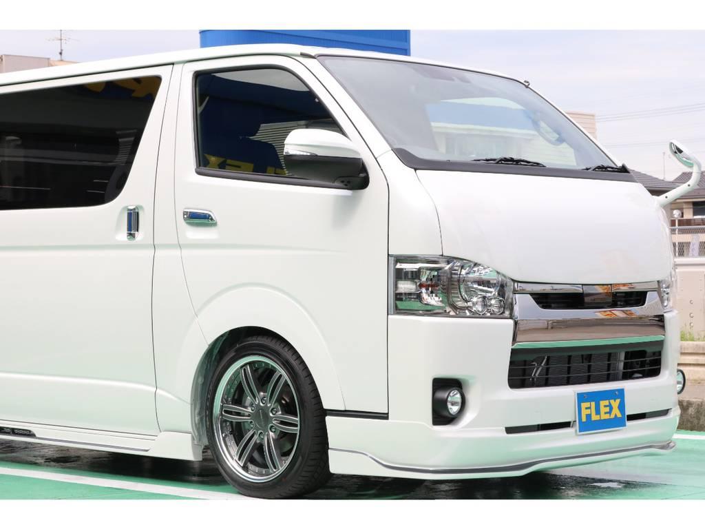 遂に完成!!415コブラフルエアロコンプリートカー お問い合わせはハイエース名古屋店まで!!