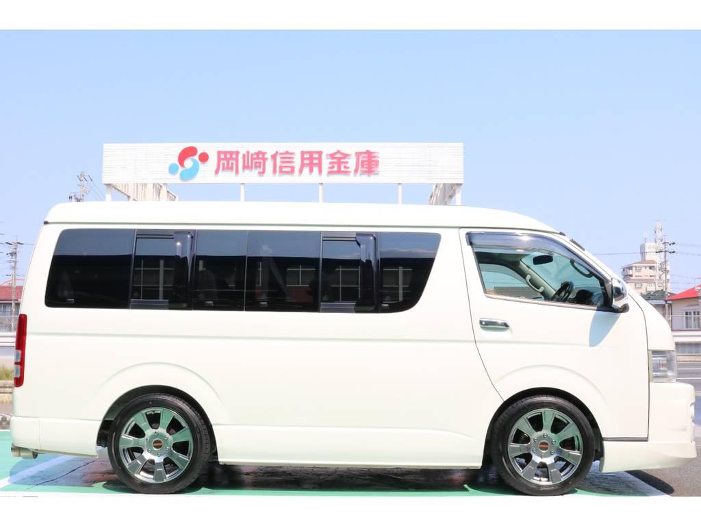 2インチローダウン♪ | トヨタ ハイエース 2.7 GL ロング ミドルルーフ 【買取直販】
