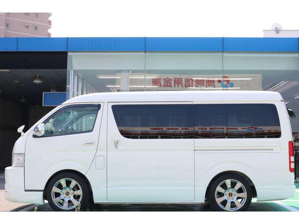 パワースライド付き♪ | トヨタ ハイエース 2.7 GL ロング ミドルルーフ 【買取直販】