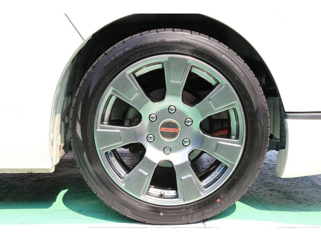 エセックス 18インチホイール | トヨタ ハイエース 2.7 GL ロング ミドルルーフ 【買取直販】