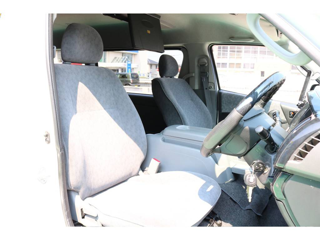 シートカバー追加も承ります! | トヨタ ハイエース 2.7 GL ロング ミドルルーフ 【買取直販】