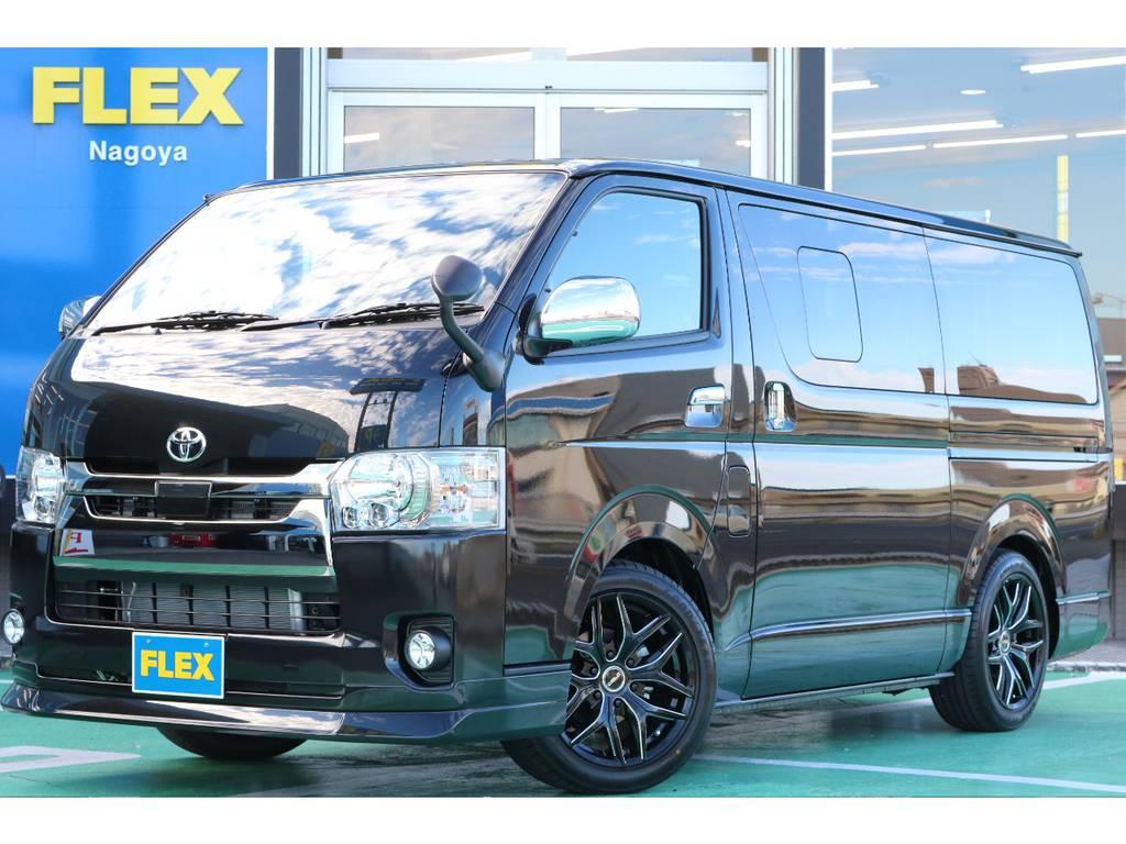 【新車ガソリンバン】オリジナル内装Ver4 ベットキット・フローリングでアウトドアで活躍間違いなし!!