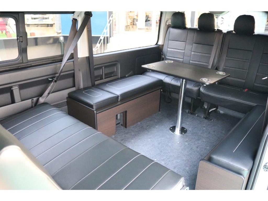 アレンジASはフルフラット・対面シートなど幅広い用途でお使い頂けます!