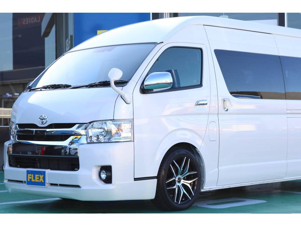ハイエ―ス名古屋店にて車両在庫しておりますのでもちろん現車確認可能です!