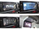 電装系も充実!走行中に視聴可能なフリップダウンモニター・SDナビを取り付けました!