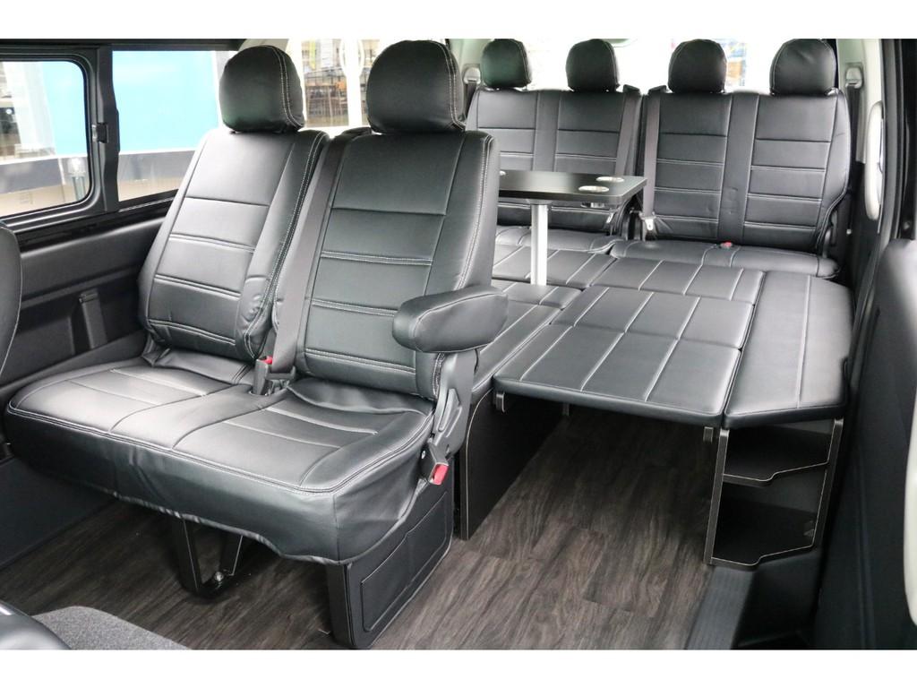 FLEXオリジナル内装架装 アレンジR1 4WDのカスタムパッケージとなります!