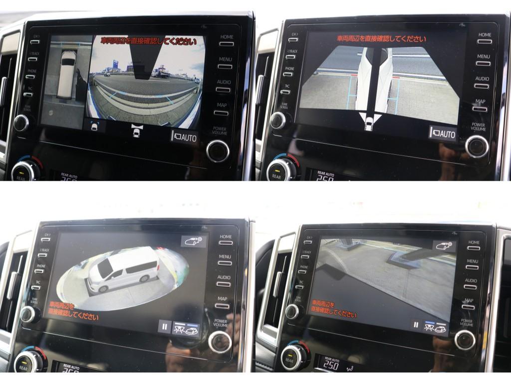 トヨタ純正オプションのT-CONNECTナビで安心・快適に操作して頂けます