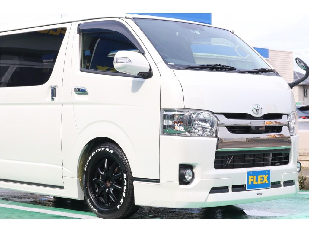 トヨタ純正オプションのモデリスタバージョンⅡのフルエアロとなります!
