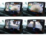 フロント・サイドカメラの映像もナビで確認できます♪
