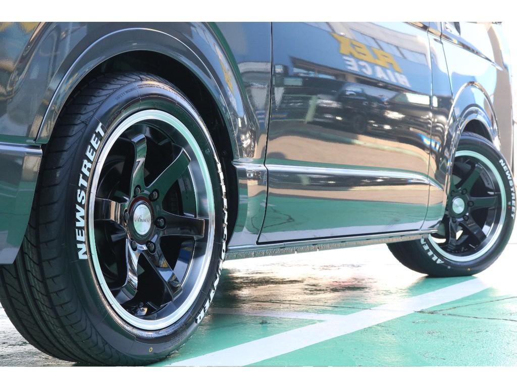 タイヤはバンタイヤオーレンカウンターとなります!