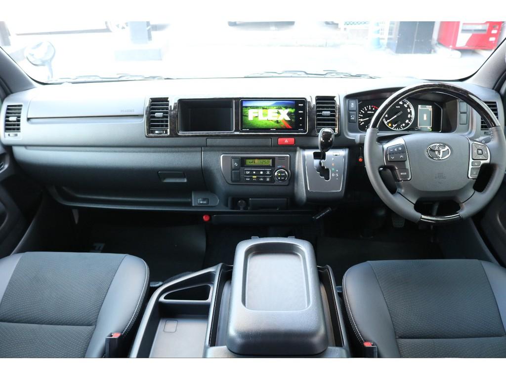特別仕様ダークプライムⅡワイドボディミドルルーフ4WD