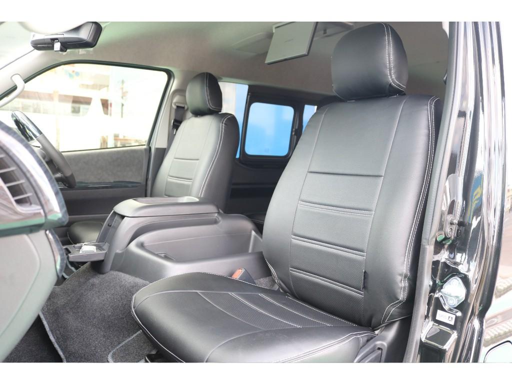 助手席も広々快適空間となっております!