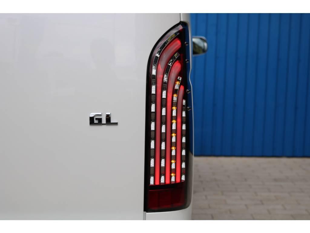 415コブラ IR LEDテールランプ | トヨタ ハイエース 2.7 GL ロング ミドルルーフ TSS付 アルパインパッケージ