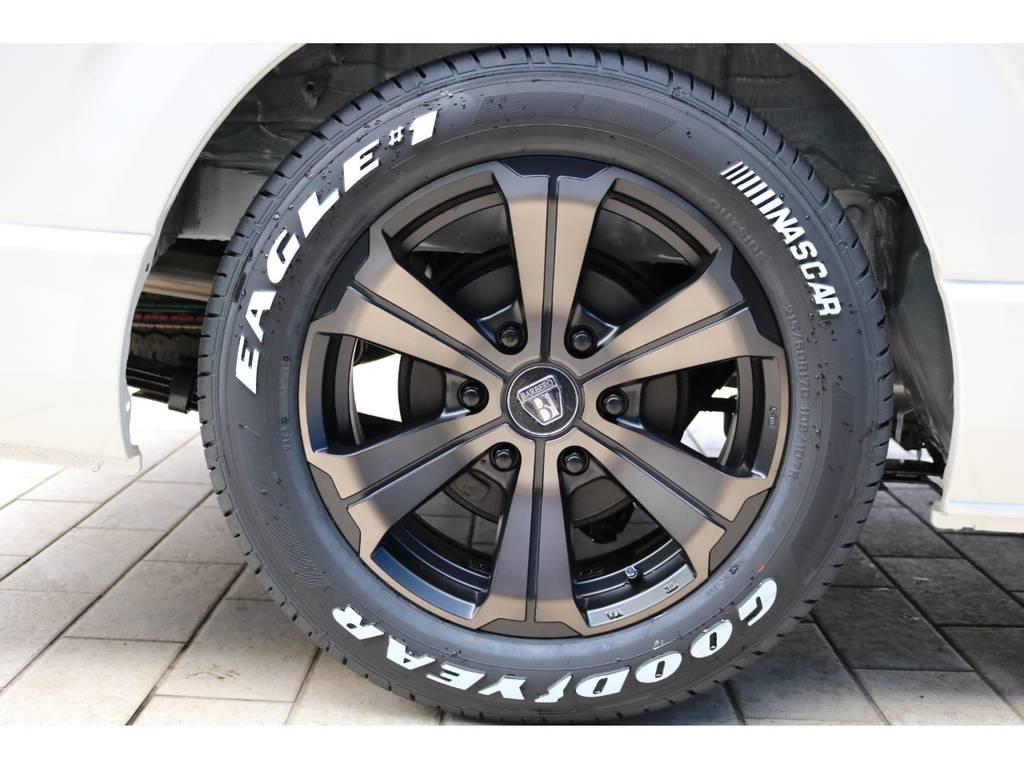 人気のナスカータイヤ | トヨタ ハイエース 2.7 GL ロング ミドルルーフ TSS付 アルパインパッケージ