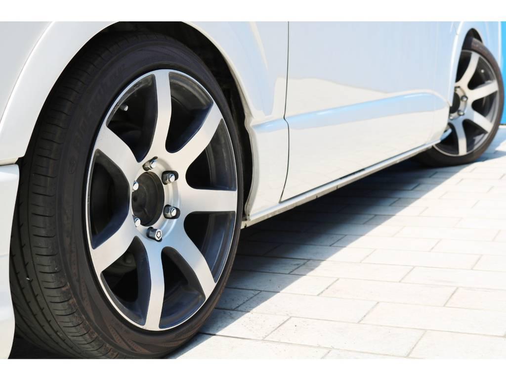 社外18インチAW | トヨタ ハイエースバン 2.0 スーパーGL ロング 4型フェイスチェンジ