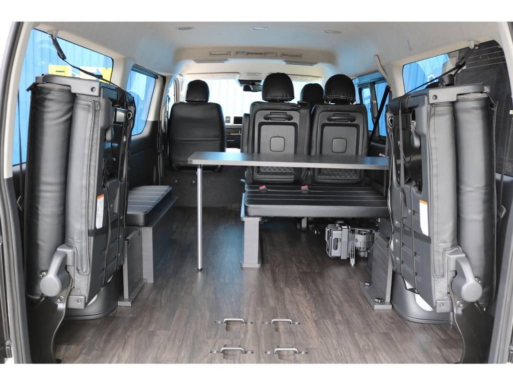 重歩行用床張り施工! | トヨタ ハイエース 2.7 GL ロング ミドルルーフ TSS付 New Ver1