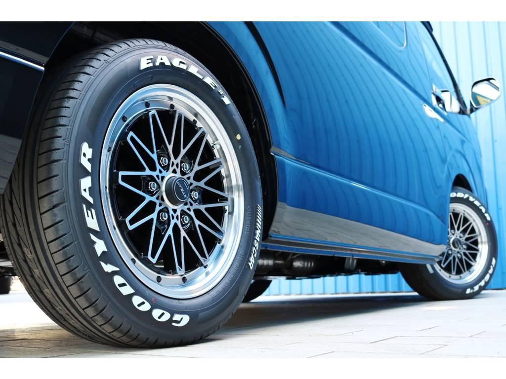 WORK エクストラップ03HC17インチAW&ナスカータイヤ! | トヨタ ハイエース 2.7 GL ロング ミドルルーフ TSS付 New Ver1
