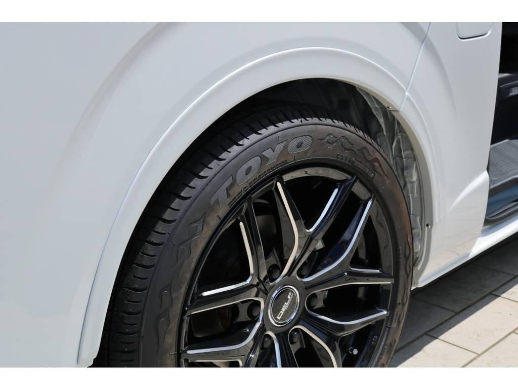 リーガルオーバーフェンダー | トヨタ ハイエースバン 2.8 スーパーGL ダークプライムⅡワイド ミドルルーフ ロングボディ ディーゼルターボ DPⅡ 小窓付き