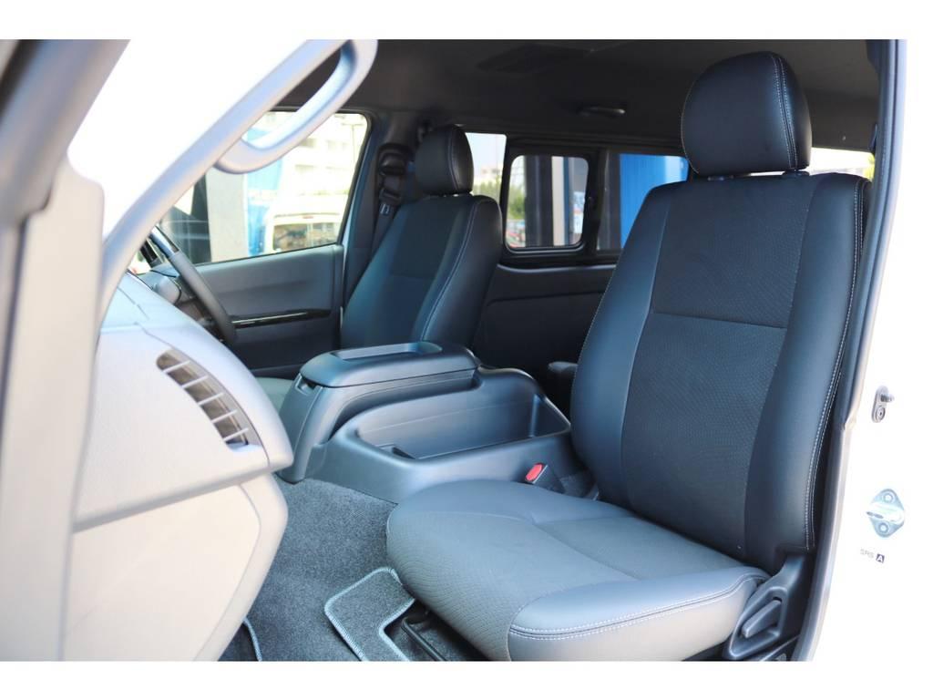専用シート色 ダークグレー | トヨタ ハイエースバン 2.8 スーパーGL ダークプライムⅡワイド ミドルルーフ ロングボディ ディーゼルターボ DPⅡ 小窓付き