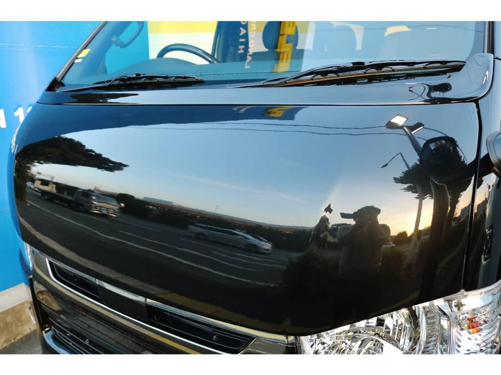 415コブラ BY2ボンネット! | トヨタ ハイエースバン 2.0 スーパーGL 50TH アニバーサリー リミテッド ロングボディ 415コブラフルエアロカスタムパッケージ