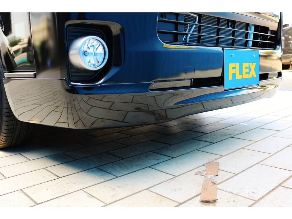 415コブラ CL3フロントスポイラー! | トヨタ ハイエースバン 2.0 スーパーGL 50TH アニバーサリー リミテッド ロングボディ 415コブラフルエアロカスタムパッケージ