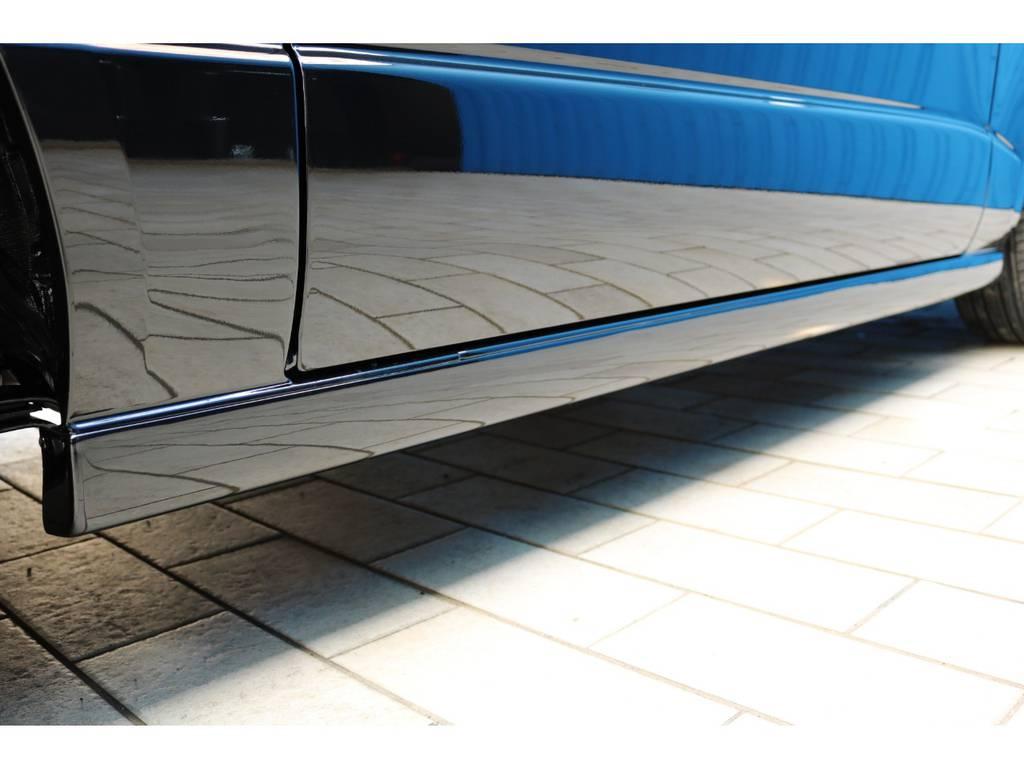 415コブラ CLサイドステップ! | トヨタ ハイエースバン 2.0 スーパーGL 50TH アニバーサリー リミテッド ロングボディ 415コブラフルエアロカスタムパッケージ