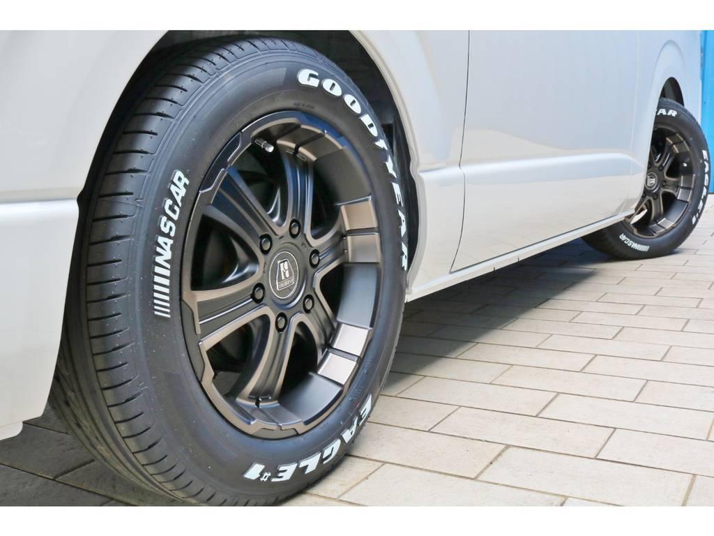 FLEXオリジナルカラー バルベロディープス17AW&GOODYEAR ナスカータイヤ