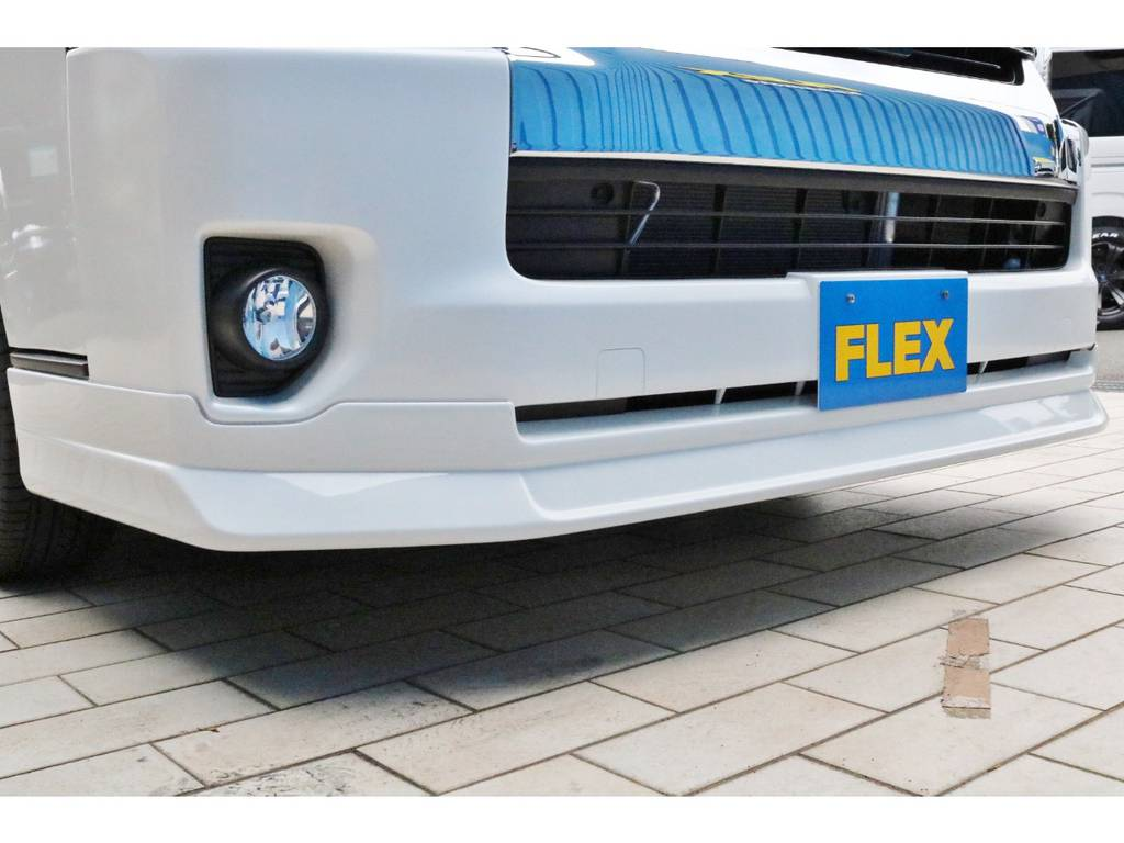 FLEXオリジナル フロントリップスポイラー!