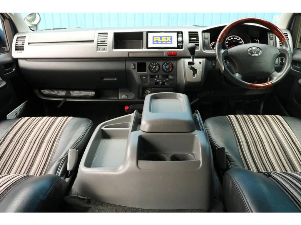 平成21年式 ハイエース ワゴン GL 2700cc ガソリン 2WD 走行 64,500km | トヨタ ハイエース 2.7 GL ロング ミドルルーフ Coast Lines R1コンビ④