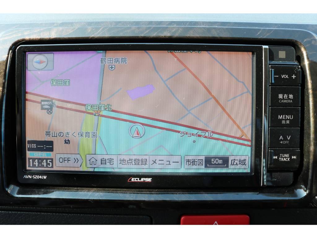 イクリプス フルセグSDナビ   トヨタ ハイエースバン 2.0 スーパーGL ダークプライム ロングボディ 4型6AT