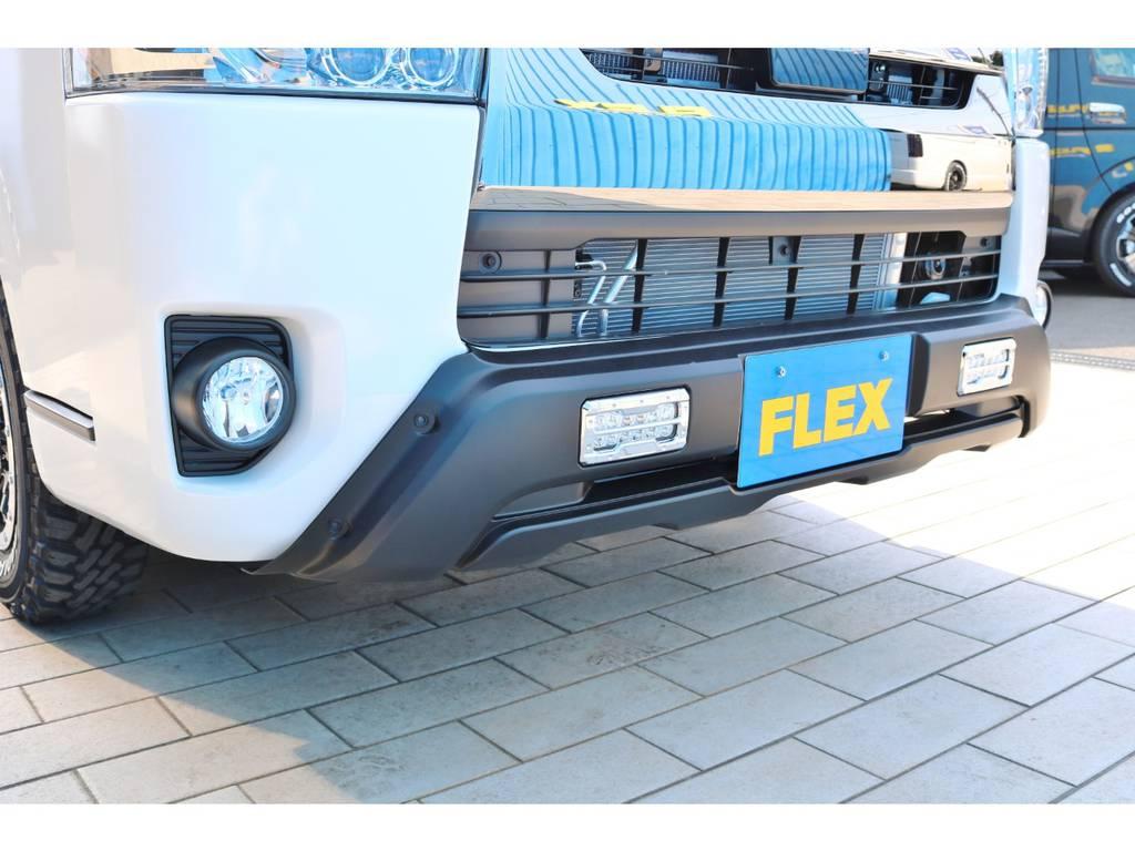 アーバン アウトドアスタイルフロントスポイラー! | トヨタ ハイエースバン 2.8 スーパーGL ダークプライムⅡ ロングボディ ディーゼルターボ エクストリームスタイル
