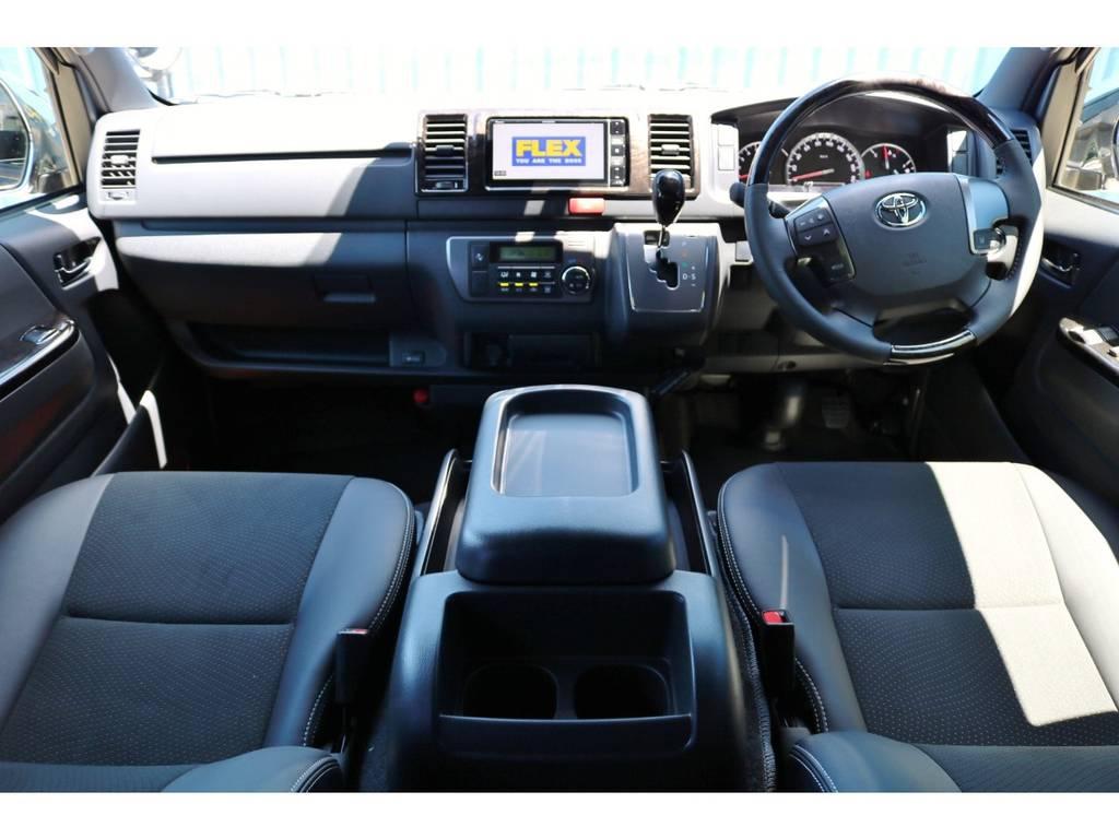 未登録新車 ハイエースV スーパーGL 特別仕様車『ダークプライムⅡ』 2000cc ガソリン 2WD | トヨタ ハイエースバン 2.0 スーパーGL ダークプライムⅡ ロングボディ DPⅡ FLEXフルカスタム