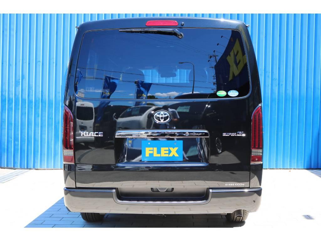 全国販売大歓迎♪全国納車も承りますので、お気軽に熊本店までお問い合わせ下さい!TEL096-386-6039 | トヨタ ハイエースバン 2.0 スーパーGL ダークプライムⅡ ロングボディ DPⅡ FLEXフルカスタム