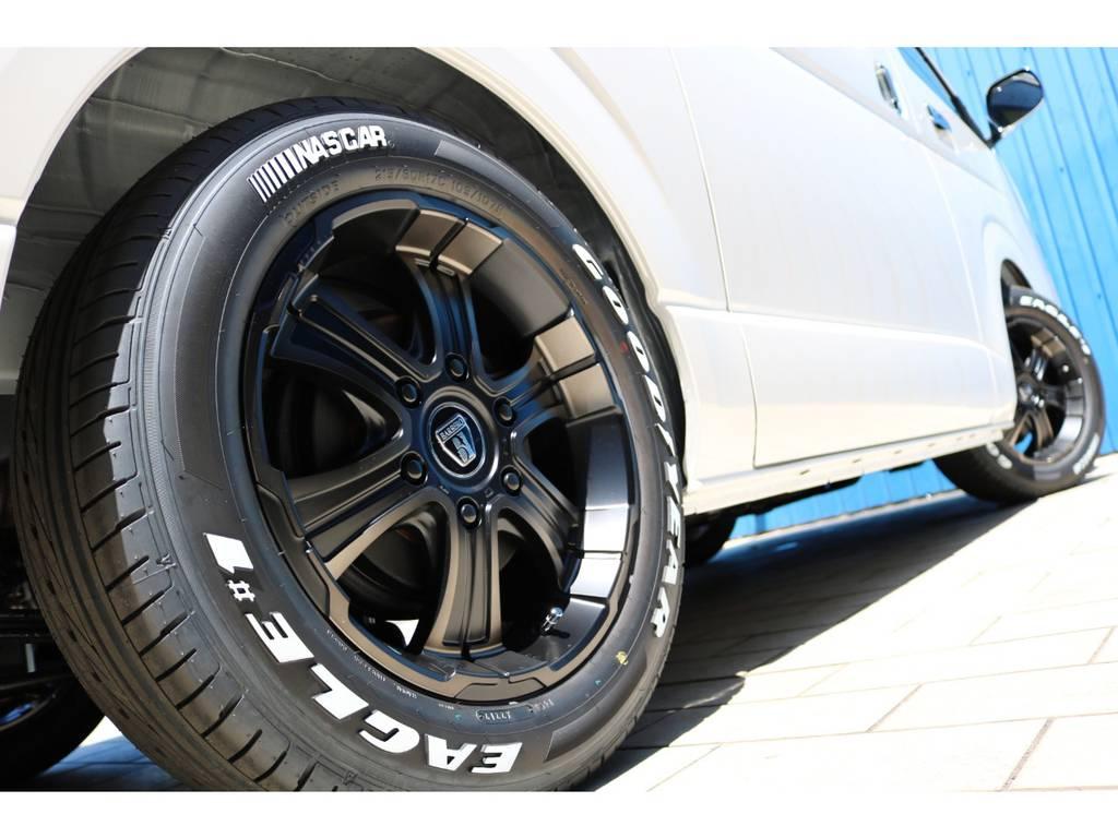FLEXオリジナルカラー バルベロディープス17AW&グッドイヤーナスカータイヤ! | トヨタ ハイエースバン 2.8 スーパーGL 50TH アニバーサリー リミテッド ロングボディ ディーゼルターボ 50TH FLEXフルカスタム