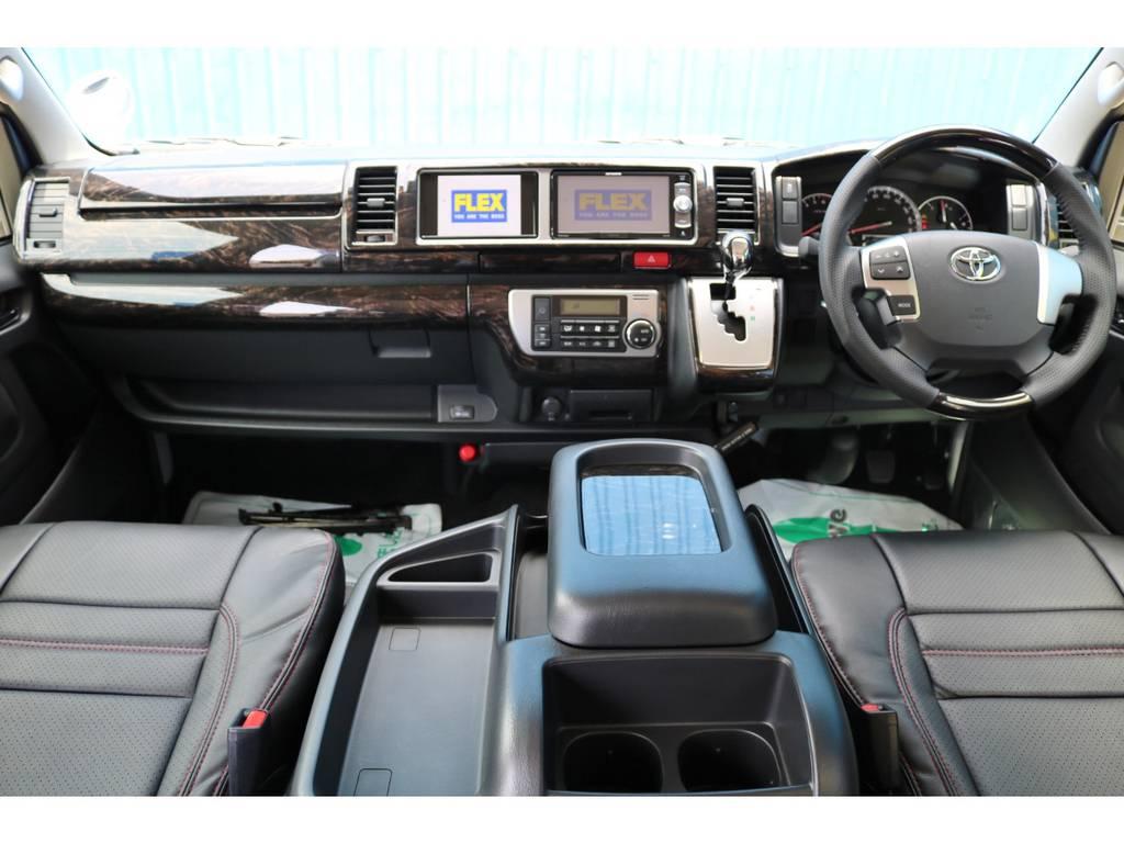 未登録新車 ハイエース ワゴン ファインテックツアラー 2700cc ガソリン 2WD 両側パワースライドドアモデル | トヨタ ハイエース 2.7 GL ロング ファインテックツアラー FLEXカスタム