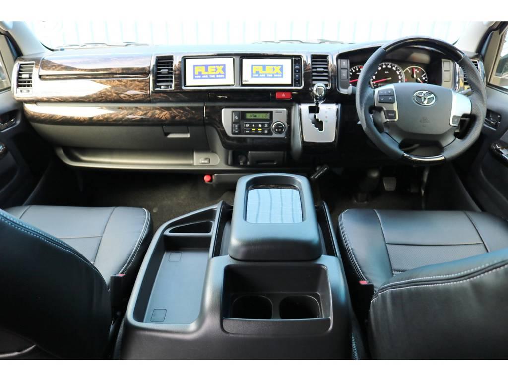 未登録新車 ハイエース ワゴン GL 2700cc ガソリン 2WD FLEXオリジナル シートアレンジAS | トヨタ ハイエース 2.7 GL ロング ミドルルーフ TSS付アレンジAS
